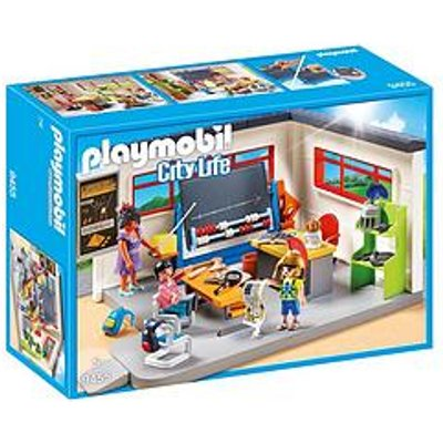 Playmobil Playmobil 9455 City Life History Class With Functional Blackboard