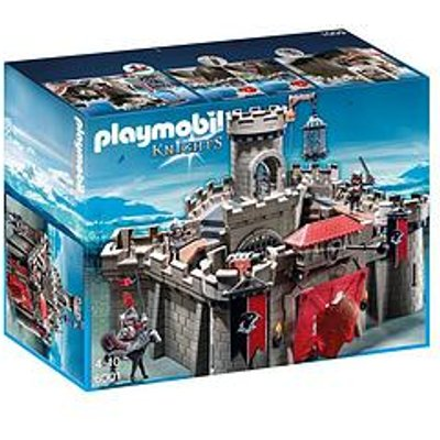 Playmobil Playmobil 6001 Hawk Knights' Castle With Dungeon And Many Hidden Traps