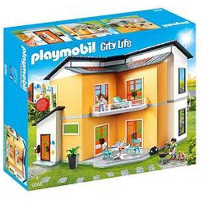 Playmobil Playmobil 9266 City Life Modern House With Working Doorbell