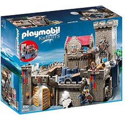 Playmobil Playmobil 6000 Royal Lion Knight'S Castle With Dungeon And Many Hidden Traps