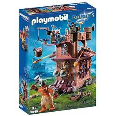Playmobil Playmobil 9340 Knights Mobile Dwarf Fortress With Shot Ballista