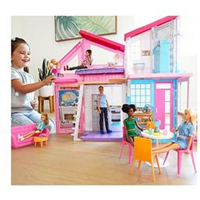 Barbie Malibu House Playset With Accessories