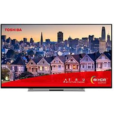 Toshiba Toshiba 49Ul5A63Db, 49 Inch, 4K Ultra Hd, Hdr, Freeview Play, Smart Tv