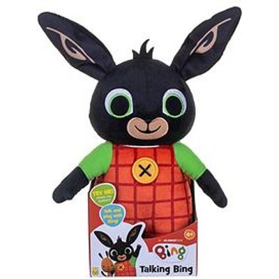 Bing Huggable Talking Bing Soft Toy