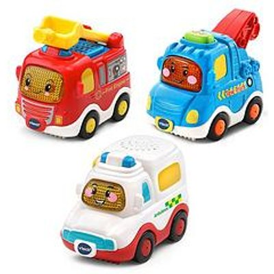 Vtech Vtech Toot Toot Drivers 3 Car Pack - Emergency Vehicles