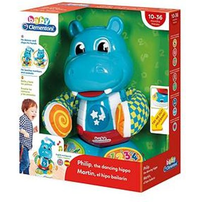 Clementoni Baby Clementoni Interactive Dancing Hippo