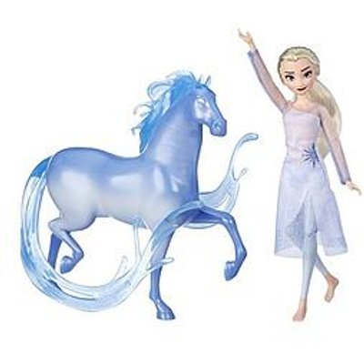 Disney Frozen Elsa Fashion Doll And Nokk Figure