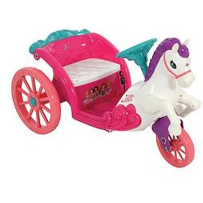 Disney Princess Disney Princess 6V Battery Operated Horse &Amp; Carriage Ride-On Toy