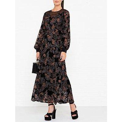 Ukulele Tory Floral Maxi Dress - Multi