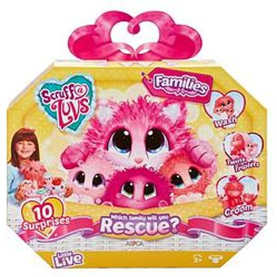 Scruff-A-Luvs Scruff-A-Luvs Rescue Pet Surprise Soft Toy- Families