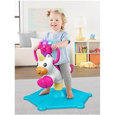Fisher-Price Bounce &Amp; Spin Unicorn