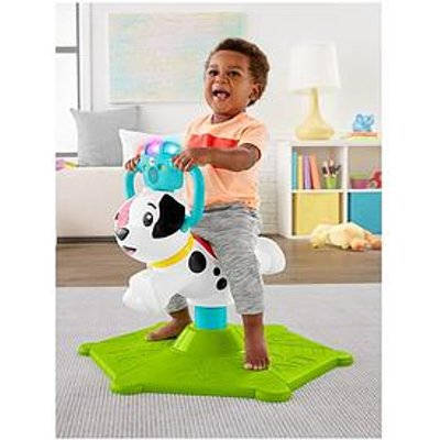 Fisher-Price Bounce &Amp; Spin Puppy