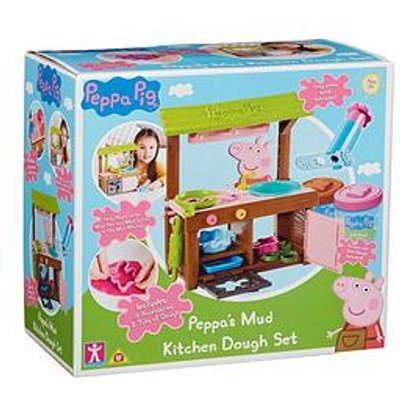 Peppa Pig Peppa'S Mud Kitchen Dough Set