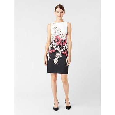 Hobbs Moira Dress - Black Multi