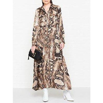Sofie Schnoor Snake Print Maxi Dress - Multi