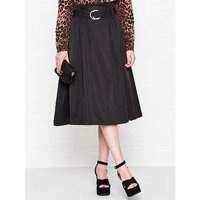 Sofie Schnoor Belted Midi Skirt - Black