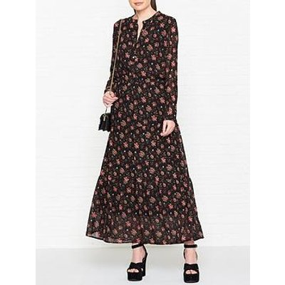 Sofie Schnoor Floral Maxi Dress - Black