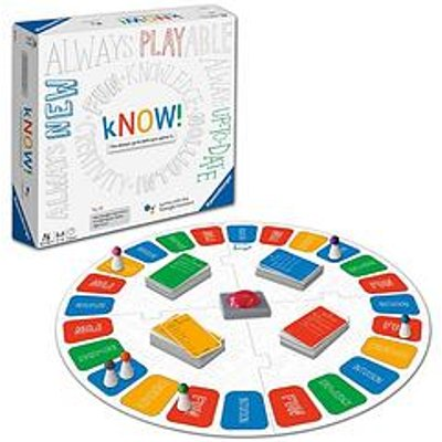 Ravensburger Ravensburger Know! The First Internet Search Quizzical Board Game With Endless Possibilities!