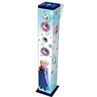 Lexibook Frozen Bluetooth Karaoke Tower With Colour Lights
