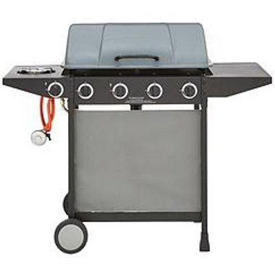 4-Burner Gas Bbq With Side Burner