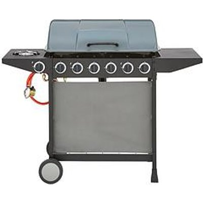 6-Burner Gas Bbq With Side Burner