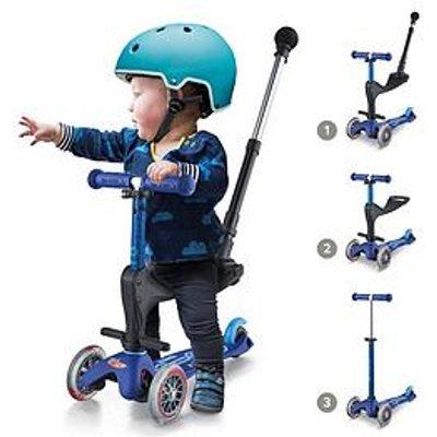 Micro Scooter 3 In 1 Mini Deluxe Plus - Blue