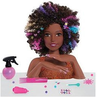 Barbie Barbie Sparkle Deluxe Styling Head - Afro Hair