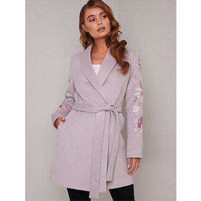 Chi Chi London Florrie Coat - Lilac