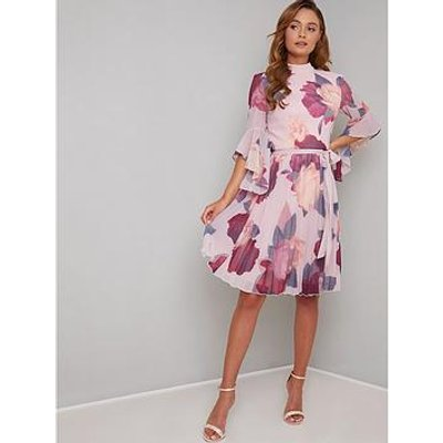 Chi Chi London Jessamy Dress - Mink