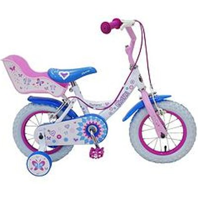 Townsend Charm 12Inch Bike With Doll Carrier