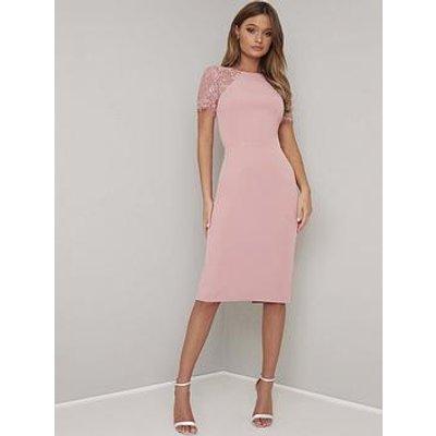 Chi Chi London Shannon Dress - Pink