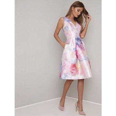 Chi Chi London Ohanna Dress - Pink