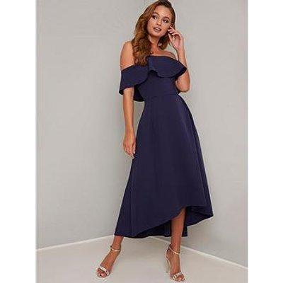 Chi Chi London Yazmina Dress - Navy