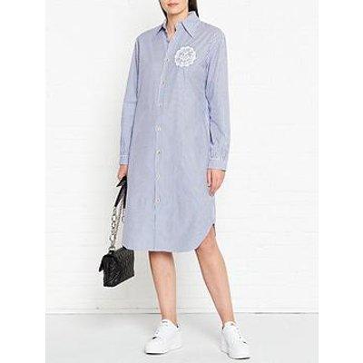 Vivienne Westwood Anglomania Stripe Shirt Dress - Blue