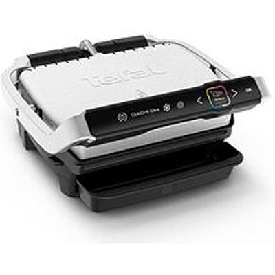 Tefal Gc750D40 Optigrill Elite Intelligent Health Grill, 12 Automatic Settings And Cooking Sensor &Ndash; Stainless Steel