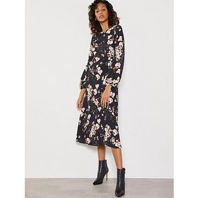 Mint Velvet Gabriella Floral Print Dress - Multi