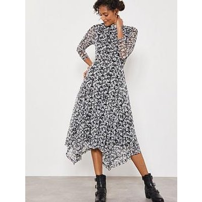 Mint Velvet Bonnie Print Jersey Dress - Multi