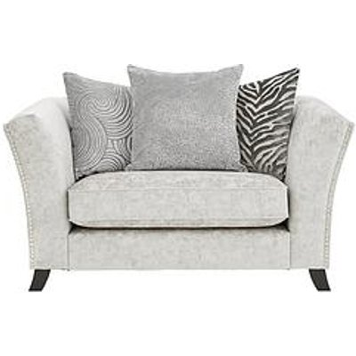 Sicily Fabric Scatter Back Cuddle Chair