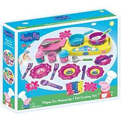 Peppa Pig Full Cooking Set