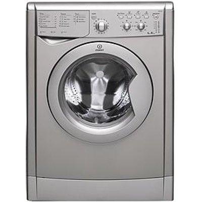 Indesit Iwdc65125Sukn 1200 Spin, 6Kg Wash, 5Kg Dry Washer Dryer - Silver