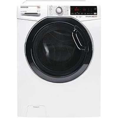 Hoover Dwoa413Hlc3G-80 13Kg Load, 1400 Spin Washing Machine - Graphite/Tinted Door