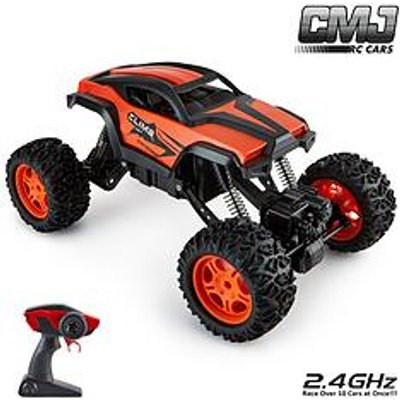 1:12 Scale Remote Control Monster Truck Car Adjustable - Chassis Orange