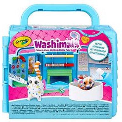Crayola Washimals Vet Clinic Playset