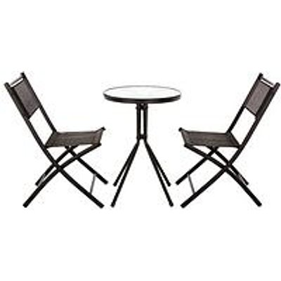 Hawaii 3 Piece Bistro Set
