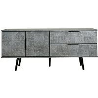 Swift Berlin Low Sideboard/Tv Unit - Fits Up To 42 Inch Tv - Graphite