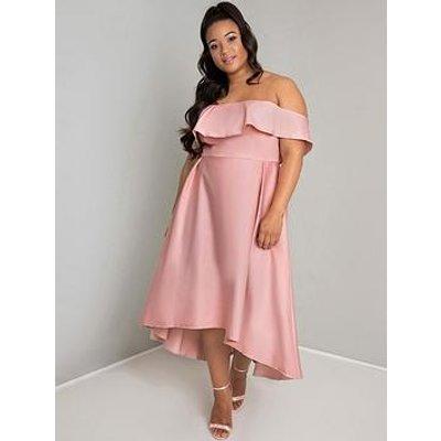 Chi Chi London Wanda Dress - Mink