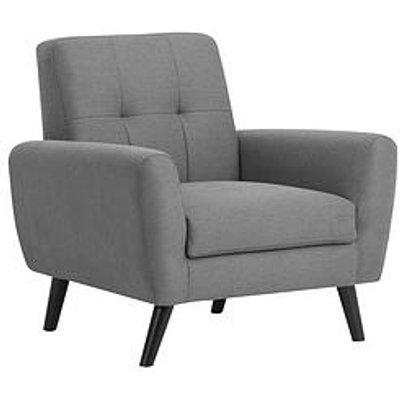 Julian Bowen Monza Fabric Armchair