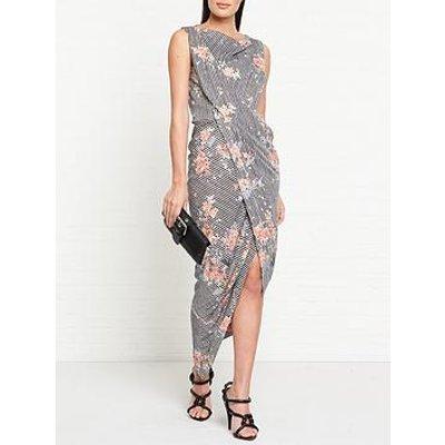 Vivienne Westwood Anglomania Vian New Orleans Flower Lurex Jersey Dress - Multicolour