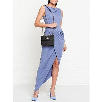 Vivienne Westwood Anglomania Vian Jersey Drape Dress - Blue