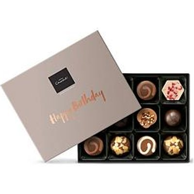 Hotel Chocolat Happy Birthday Chocolate Gift Box